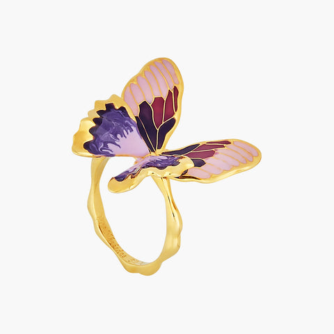 Terinos Butterfly Multiple Size Ring - Gold