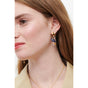 Pas de deux Asymmetrical Constellation Ballerina Stud Earrings Alternate View