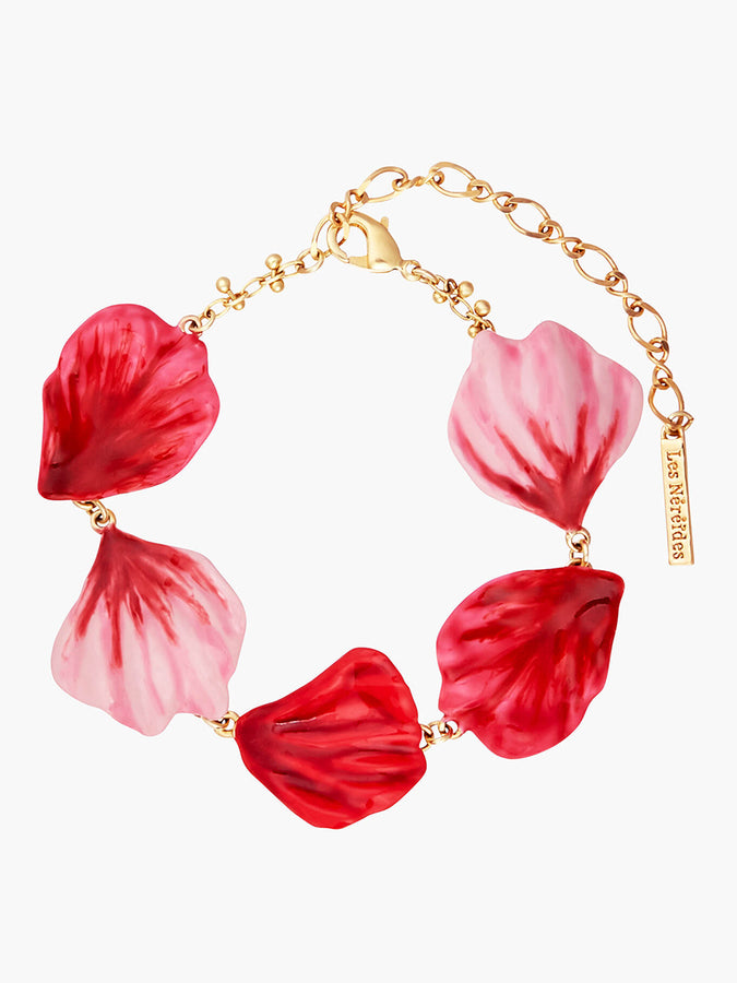 Sweet As A Rose Rose Petals Thin Bracelet