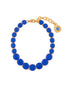 La Diamantine Luxurious Blue Stones Thin Bracelet