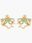 Sea Bottom Octopus Stud Earrings