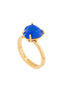 La Diamantine Blue Heart Stone Ring - Blue Alternate View