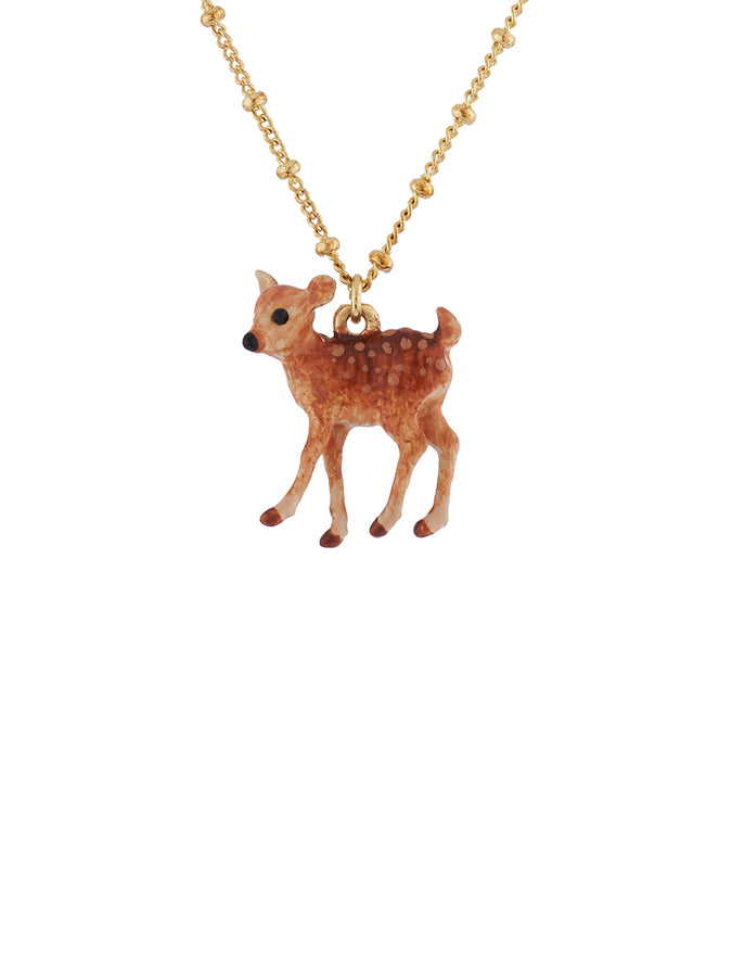 Bucolic Encounters Fawn necklace