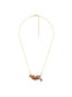 Luxuriant Canopy Wild ocelot long necklace Alternate View