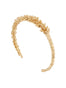 Blazing Nature Lavender's Branch Semi-Rigid Bracelet - Gold Alternate View