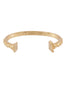 Underwater Memories Ancient Greek Columns Semirigid Bracelet - Gold