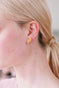 A Simple Swan Golden Swan Feather Stud Earrings Alternate View