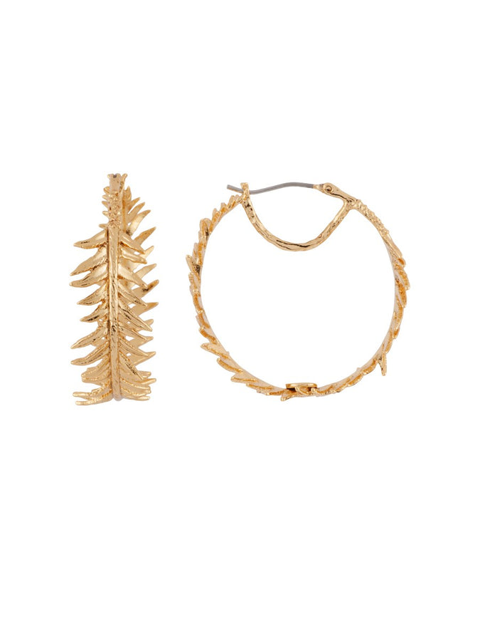 Blazing Nature Fern's Leaf Hoops