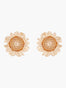 Nectar of the Sun Sunflower Stud Earrings