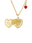 From Paris with Love Paris Secret-Heart Necklace Alternate View