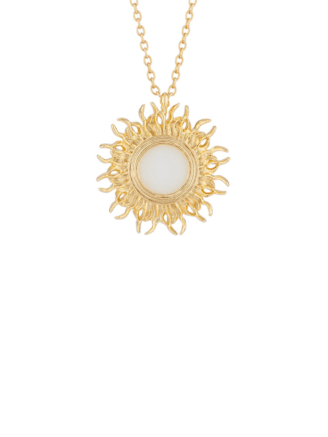 Weekend In Taormina Sun Long Necklace
