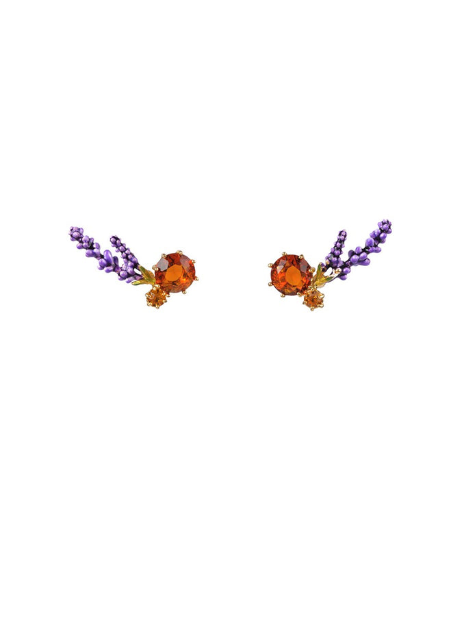 Gardens In Provence Lavender Earrings