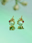 Extraordinary Garden Flower and Ladybird Clip-on Earrings Alternate View