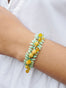 Summer Scents Mimosa Flowers Bangle Bracelet Alternate View