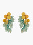 Summer Scents Bouquet Clip-on Earrings