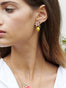 Summer Scents Lemon and Citrus Blossom Clip-on Earrings Alternate View