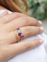 Summer Scents Set of 2 Rings Lavanda Plaits - Multi Alternate View