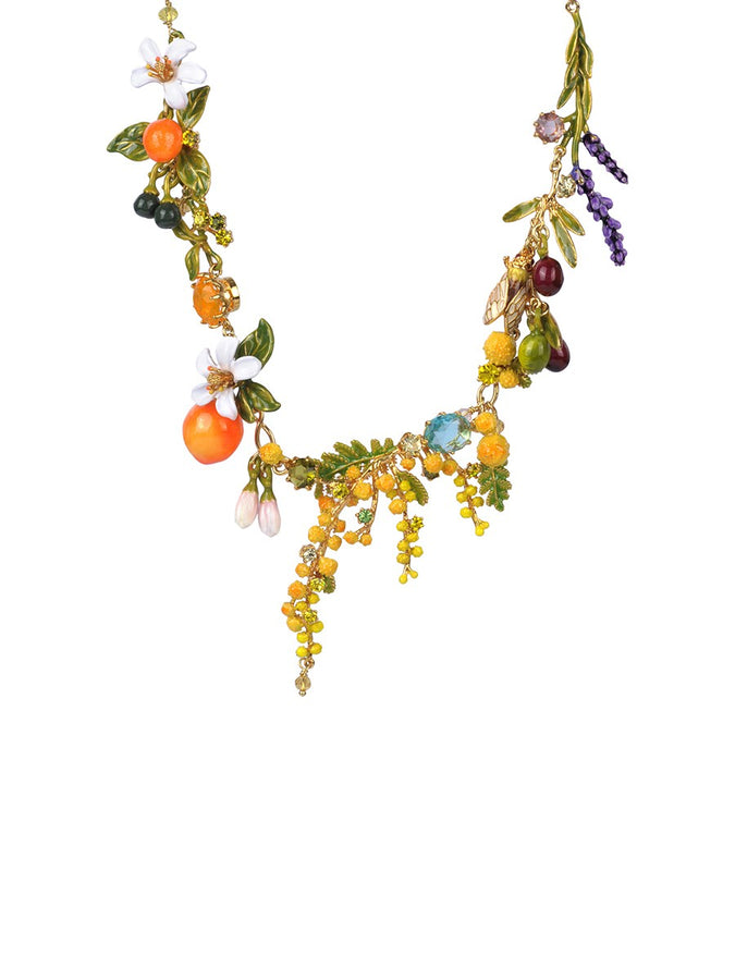 Gardens In Provence Multi Short Necklace