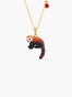 Les Nereides Loves Animals Red Panda Pendant Necklace