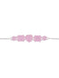 La Diamantine 5 pink stones La Diamantine thin bracelet Alternate View