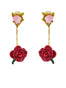 Balad In Versailles Rosebud and Removable Roses Clasp