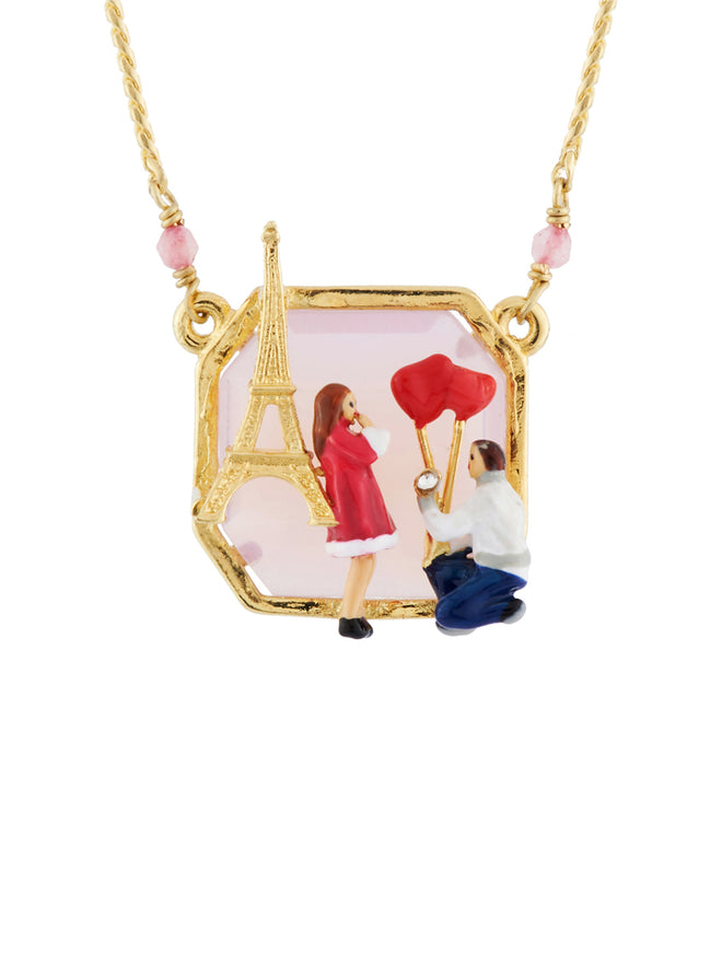 From Paris with Love Marry Me Necklace