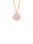 La Diamantine 1 Pink Stone Long Necklace