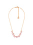 La Diamantine 9 Pink Stones Necklace Alternate View