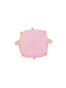 La Diamantine Pink Square Stone Ring - Pink