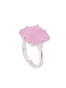 La Diamantine Pink square stone La Diamantine ring - Pink Alternate View