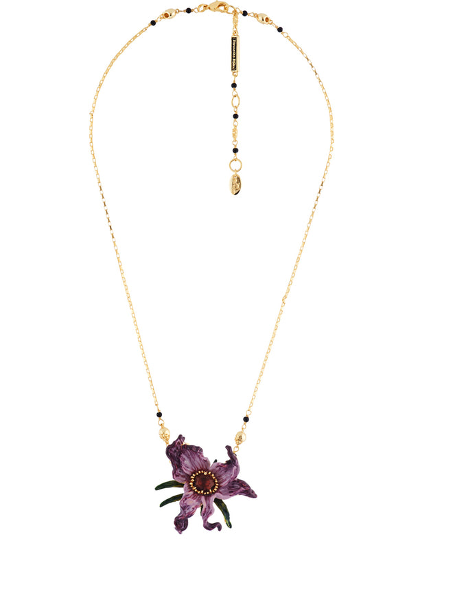 Ostentatious Obscurity Wilted Flower and Pins' Petals Necklace Alternate View