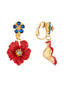 Golden Fields Poppy clip-on earrings Alternate View