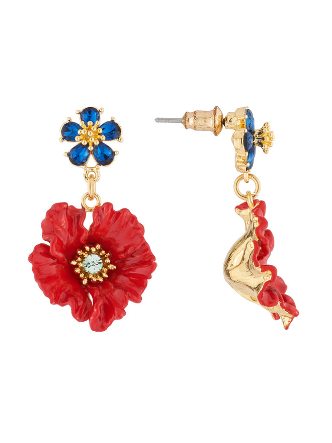 Golden Fields Poppy stud earrings Alternate View