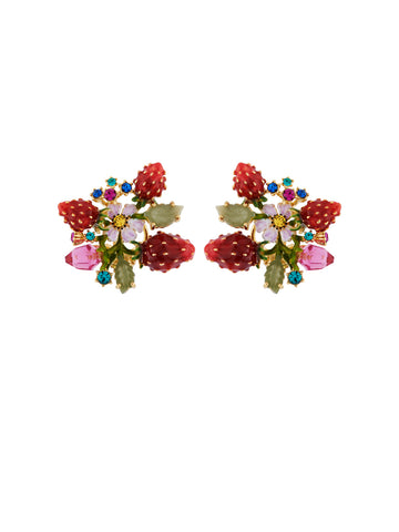 Royal Gardens Bouquet Earrings