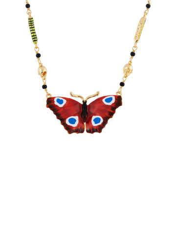 Ostentatious Obscurity Butterfly Necklace