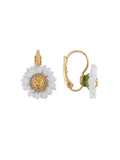Lovely Daisies Daisy French Hook Earrings