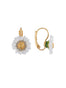 Lovely Daisies Daisy French Hook Earrings Alternate View