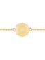 La Diamantine Citrine Yellow Round Stone Bracelet Alternate View