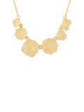 La Diamantine 6 Citrine Yellow Stones Necklace
