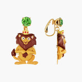 The Wizard Of Oz Cowardly Lion Clip-on Earrings