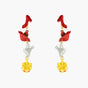 The Wizard Of Oz Shoe, Hat, Funnel and Crown Post Earrings