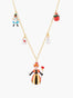 Alice's Dream Alice and the Queen of Hearts Thin Necklace