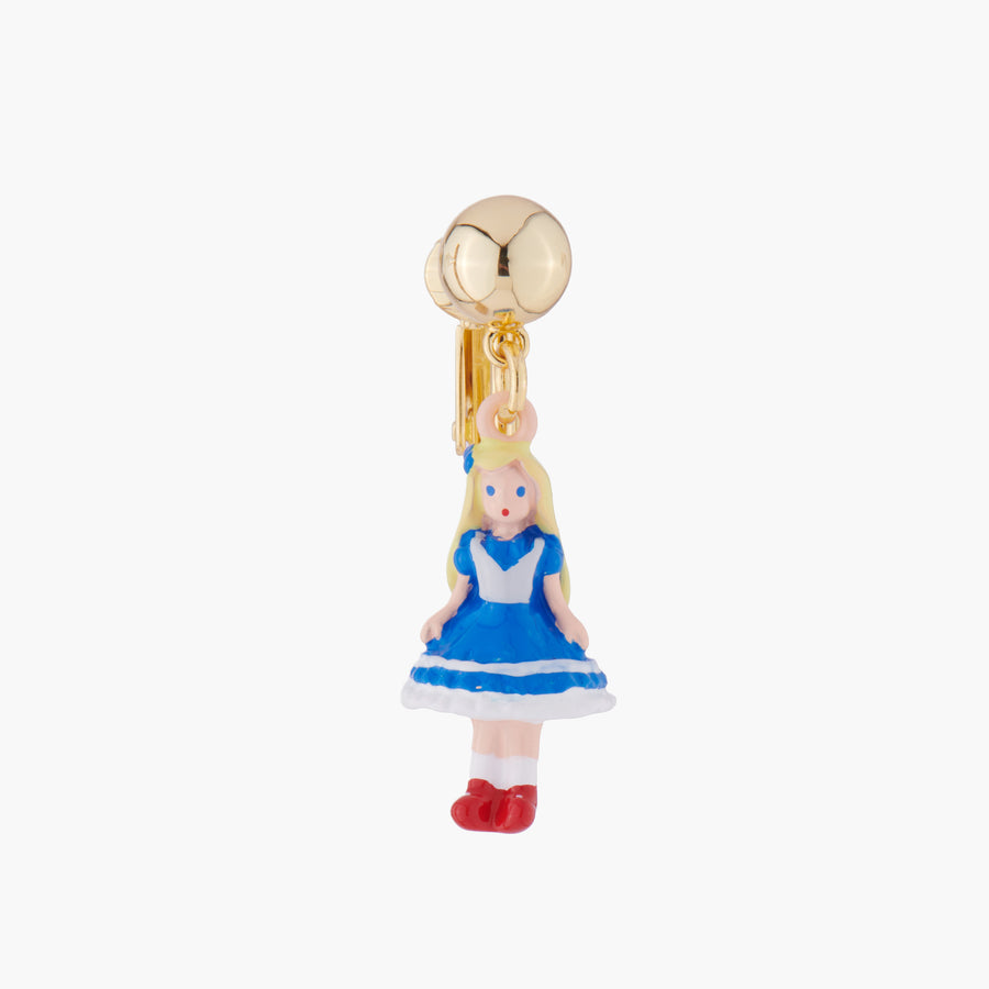 Alice in Wonderland Clip On Earring