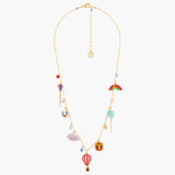 Up in the Air Long Necklace