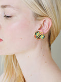 N2 X Roca Balboa Multi-Coloured Butterfly Clip On Earrings
