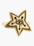 N2 X Roca Balboa Eye And Star Adjustable Ring