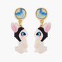 Up in the Air Rabbit Clip On Earrings
