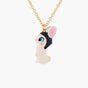 Travelling Rabbit Pendant Necklace