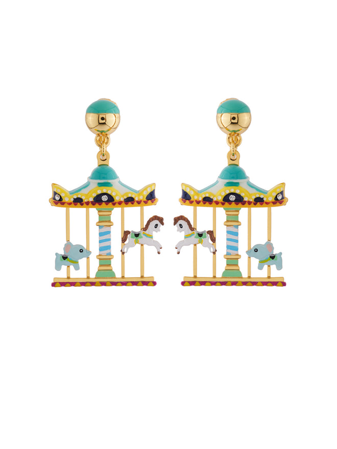Joyland The N2 Enchanting Roudabout Clip Earrings