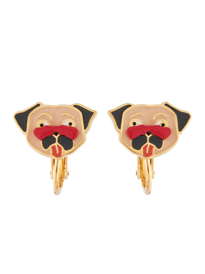 The Two Make A Pair Charmer Carlin Clip Earrings